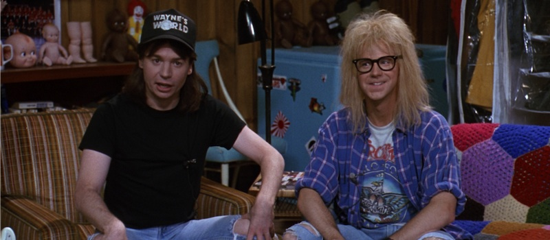 waynes world mike myers dana carvey wayne and garth